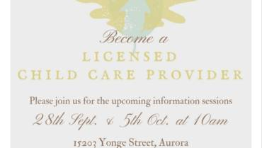 Become a Licensed Home Child Care Provider