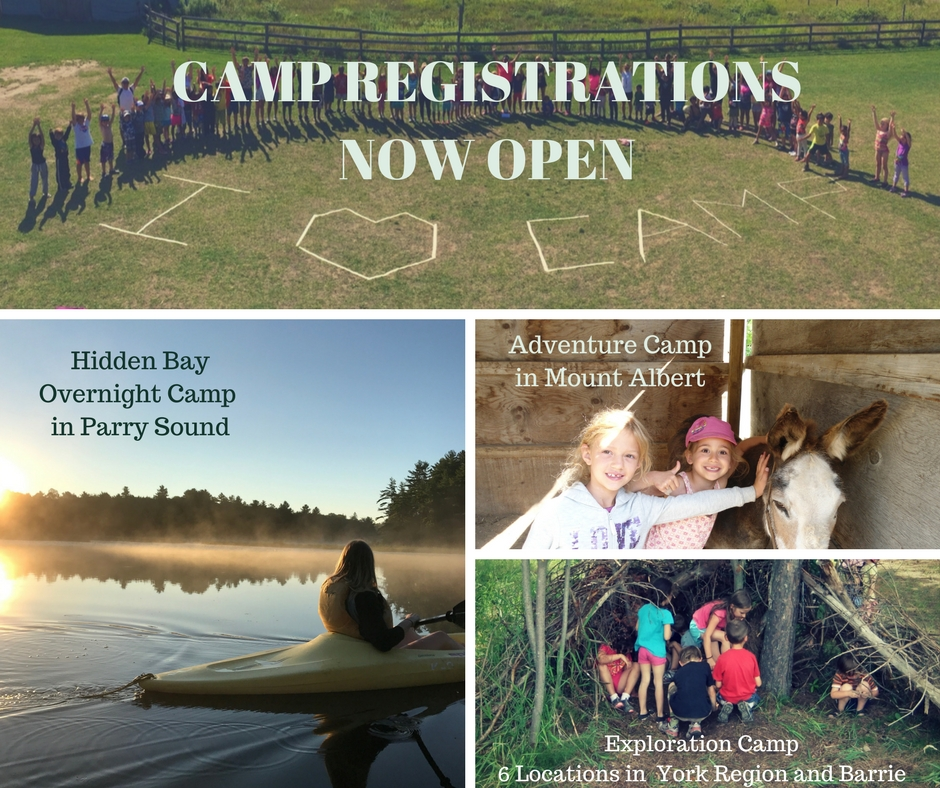 Camp Registrations NOW OPEN – REGISTER TODAY!